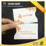 Portatarjetas superior de la venta con impermeable y la protección