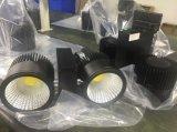 luz de la pista de 80W LED con la pista y la instalación montada superficie y el programa piloto Non-Flickering 500-900Hz