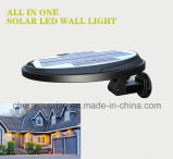Lumière solaire neuve de mur de détecteur solaire de la lumière DEL de paquet pour le jardin
