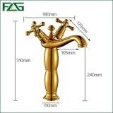 Flg Gold Painting Vessel Banheiro Bacia Basin Water Mixer