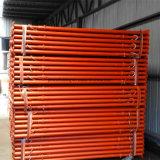 Fromworkの調節可能な鋼鉄支柱