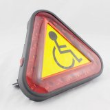 기동성 스쿠터 또는 힘 휠체어 경고등