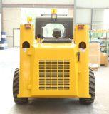 플레이너를 가진 조이스틱 통제 농장 트랙터 바퀴 로더 미끄럼 수송아지 로더 소형 로더
