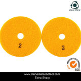 "4 "" diamante Flexible Polishing Pads per Polishing e Grinding Stone"