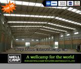 Alta costruzione chiara personalizzata della struttura d'acciaio di standard 6m