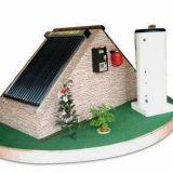 分割加圧閉じたループの太陽給湯装置システム