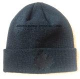 Chapeau brodé par chapeau de tricotage de jacquard d'usine de chapeau d'OEM de qualité