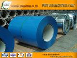 Prepintada galvanizada Bobina de acero / PPGI bobinas de acero