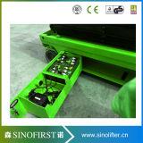 12m hydraulische selbstangetriebene elektrische Scissor Aufzug-Baugeräte