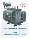 10kv S9の三相Oil-Immersed変圧器