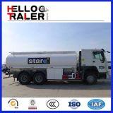 유압 조타 371HP HOWO 연료 탱크 트럭