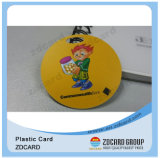 Mini Card, Customized Size Card, Small Plastic Card, Plastic Tag per Key Tag, Luggage Tag
