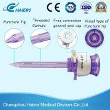 Trocart médical jetable pour la chirurgie du laparoscope