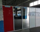 4mm großer Europ Gery Farben-Silber-Spiegel für Stab-Dekoration
