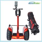 4000W道の中国Segの方法を離れたブラシレスモーター60km最大射程、電気一人乗り二輪馬車、Gyropodeの電気スクーター