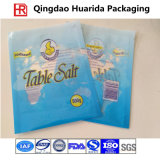Saco de cristal da embalagem de sal do mar/empacotamento de pé de sal de tabela