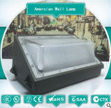 ETL Dlcの証明書が付いている高い発電40W 60W 100W Amercian様式LEDの壁ランプLEDの洪水ライト
