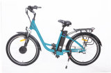 Vélo électrique de ville dans la batterie au lithium