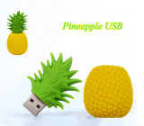 Do USB creativo do abacaxi/fruta da vara do USB presente da vara da memória de disco da movimentação U da pena do polegar da movimentação do flash do USB 1GB-64GB