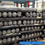 Tissu noir de barrière tissé par pp de 3.2onz Weed