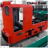 Locomotora a prueba de explosiones de la batería de las locomotoras eléctricas de Cty5/600mm para la explotación minera de subterráneo