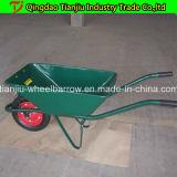 Гальванизированный курган колеса Wb6410 тачки для рынка России