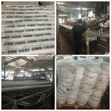 Tuyau d'incendie simple à haute pression de jupe de PVC pour les matériels 25bar de lutte contre l'incendie