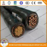 Câble d'alimentation électrique de la basse tension XLPE