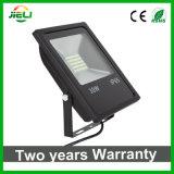熱い販売のEXW価格SMD5730は黒い屋外LEDの洪水ライトを細くする
