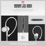 Do metal sem fio dos esportes da em-Orelha auriculares estereofónicos de Bluetooth 4.1