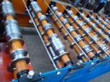 Trapzoidal Metalldach-Fliese, welche die Rolle bildet Maschinen-Preis bildet
