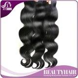 Onda peruana do corpo da onda peruana do corpo do cabelo do Virgin de 3 pacotes 7A pacotes brandamente peruanos não processados baratos do Weave do cabelo humano do Virgin