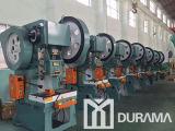 Prensa de potencia mecánica el C Drj23, punzonadora, diversa dimensión de una variable del metal que hace la máquina
