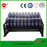 Batterie de fer au nickel solaire de la batterie 12V 100ah Nife de cycle profond de longue vie de qualité