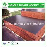 La película hecha frente película negra de Brown hizo frente a la madera contrachapada de la construcción de la madera contrachapada 122X244