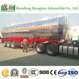 운송업자 트럭 트레일러, 가연 광물 수송 탱크, 유리제 미러를 가진 탱크 트레일러