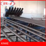 Máquina de limpeza de jato de areia de tubos de aço