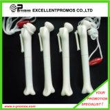 Stylo en plastique d'os avec la lanière (EP-P82955)