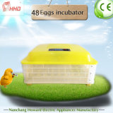 Hhd Full Automatic Small 48 Egg Incubator für Chicken/Quail/Duck