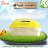 Incubateur complètement automatique de 48 oeufs de Hhd petit pour le poulet/cailles/canard