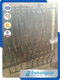 Rete fissa tubolare galvanizzata del ferro rivestito della polvere