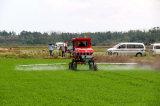 Aidi 상표 4WD Hst 높은 정리 벼 필드와 농장을%s 자기 추진 붐 스프레이어