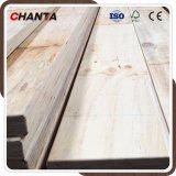 La tarjeta del andamio del LVL del uso de la construcción con irradia la madera del pino