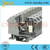Bloques de terminales de tornillo de la conexión del carril universal del estruendo (SKJ-4)