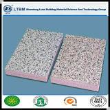 Aislamiento térmico UV panel de cemento recubierto