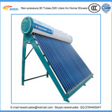 China Nicht-Druck Solarwarmwasserbereiter-Fabrik