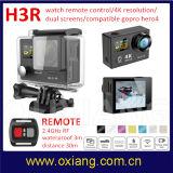 Sport WiFi Vorgangs-Kamera des Doppelbildschirm-imprägniern wasserdichte volle HD 1080P/60fps 4k mit Fernsteuerungs 30m