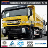 Iveco 커서 엔진 덤프 팁 주는 사람 430HP 트럭