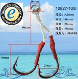 Crochet de pêche en acier inoxydable 10827-D