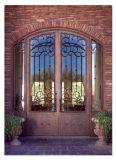 別荘のための中国の工場卸売の錬鉄のドア